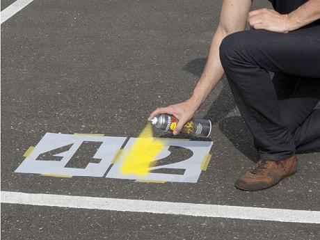 Szablon Cyfry I Litery Do Znakowania Betonu Asfaltu Itp